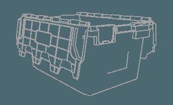 crate outline CAD design