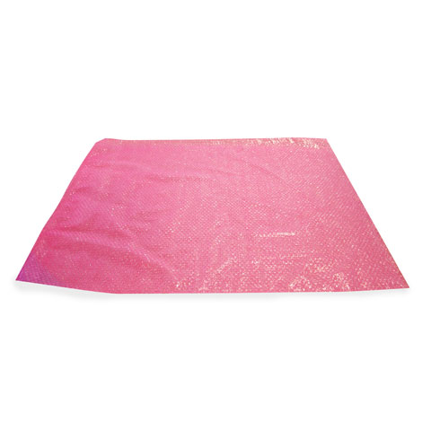bubble wrap bag - pink antistatic