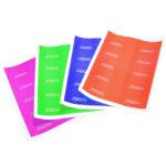 labels, easy peel, self adhesive