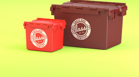 personalised crates